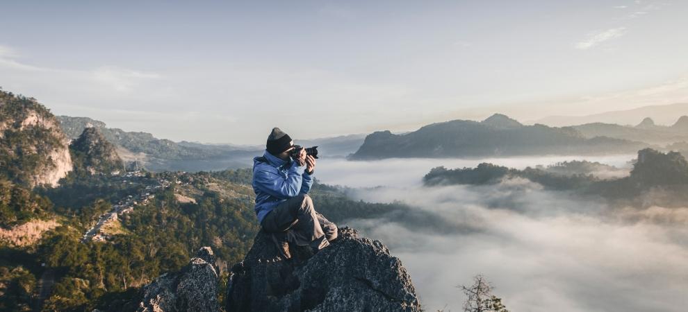 Y para ti, ¿Cuándo comenzó la fotografía?